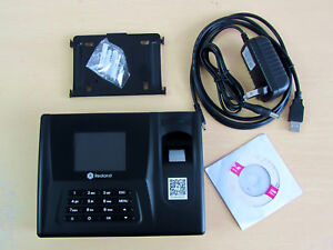 New Realand Zdc20 Fingerprint Time Attendance Clock Employee Payroll Recorder