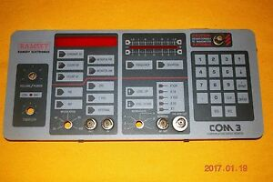 Ramsey Com 3 Communication Service Monitor Front Panel And Front Cover