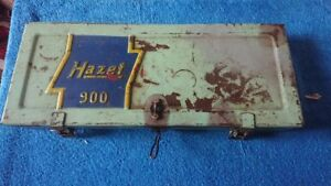 Vintage Hazet 900 Socket Set Ratchet Set Tool Box