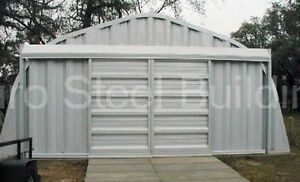 Durospan Steel 20x42x12 Metal Garage Storage Building Workshop Factory Direct
