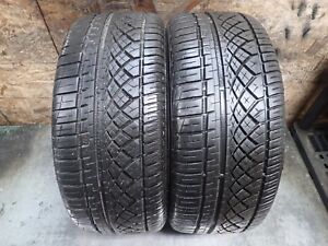 2 225 45 17 91w Continental Extreme Contact Dws Tires 8 5 9 32 No Repairs 5014