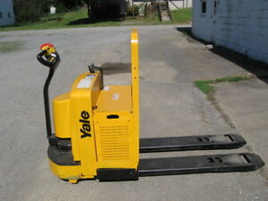 Yale Electric Pallet Jack Truck 6000 Capacity 24v
