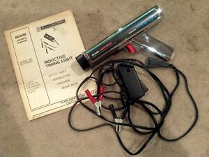 Craftsman Timing Light Gun Sears Inductive Chrome Model 161 213400 Cable