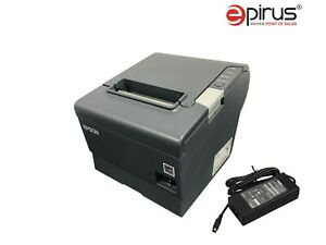 Epson Serial Thermal Receipt Printer Tm t88v Pos Bar Restaurant Retail Kiosk