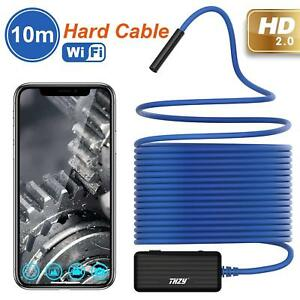 Wireless Endoscope Thzy 1200p Hd 10m Wifi Borescope Inspection Camera