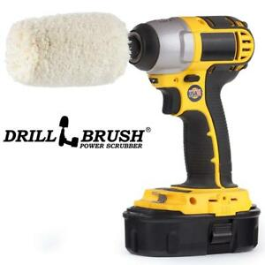 Drill Brush Soft Cotton Cone Buffer Polisher Car Buffing Wheel