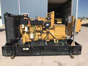 _125 Kw Cat Generator Set 12 Lead Reconnectable 277 480 Volts