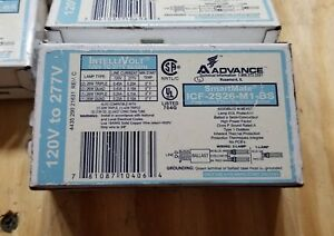 Lot Of 13 Advance Icf 2s26 m1 bs Fluorescent Ballasts