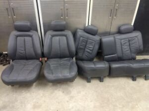 Jeep Grand Cherokee Zj 5 9 Limited Calf Leather Seats Complete Set