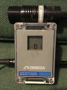 Omega Os550a Series Infrared Industrial Pyrometer Thermometer Complete Bin Obo