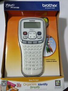 New Brother P touch Electronic Labeling System Label Maker Pt h100