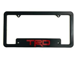 Toyota Trd License Plate Frame