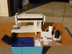 Tuffsew Super Deluxe Industrial Strength Walking Foot Sewing Machine Nice