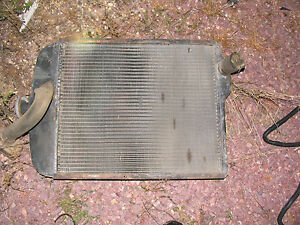 Oliver Tractor Radiator Fits 1550 1555 1600 1650 1655