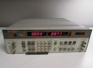 One Used Hp 8903b Audio Analyzer Good Condition 7