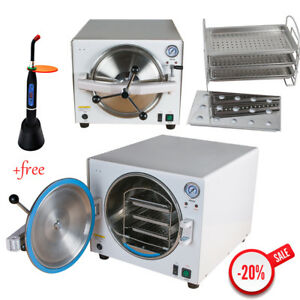 Dhl 18l Dental Medical Lab Equipment Autoclave Steam Sterilizer Heating over