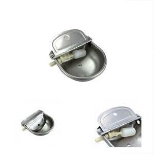 Feeding Supplies Stainless Steel Automatic Waterer Bowl Horse Cattle Goat Sheep