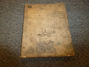 John Deere 450b Crawler Loader Backhoe Dozer Technical Repair Service Manual
