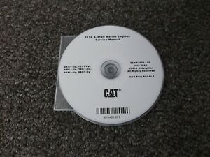 Cat Caterpillar 3116 3126 Marine Engine Shop Service Repair Manual Cd 4kg1 1zj1