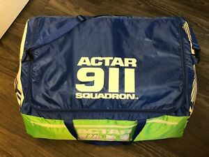 Actar 911 Squadron 10 Cpr Training Manikins Lung Bags Transport storage Bag