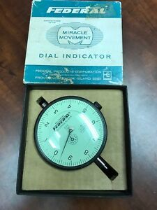 Federal Products Corp Model No E2i Dial Indicator 0001 0 10 500