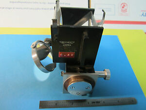 Microscope Part Reichert Austria Neupolar Objective Mirror Optics Bin 23