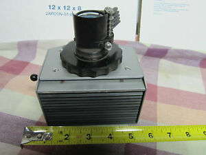 Reichert Austria Microscope Part Lamp Housing Iris Filters Optics Bin a6