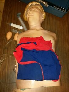 Laerdal Resusci Anne Torso Cpr First Aid Training Manikin