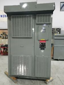 Reconditioned Dry Type Transformer 300 Kva 4160 Delta 480y 277 Volt 3r
