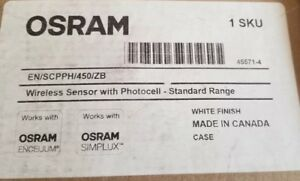 Osram En scpph 450 zb Wireless Sensor With Photocell White nib