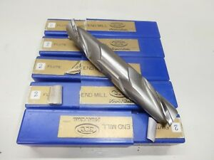 New 1 Double End Mill Lot Of 5