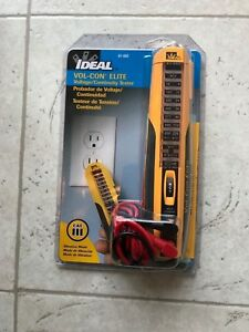 Ideal Vol con Elite Voltage continuity Tester 61 092 New In Package