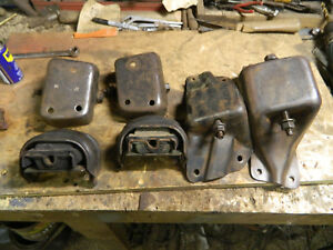 1967 1979 Ford Truck F150 460 Engine Mount Perches Motor Stand 2 Wheel Drive Oem