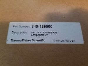 Thermo Fisher Scientific Ge Tip Atr Slide On Attachment P n 840 169500