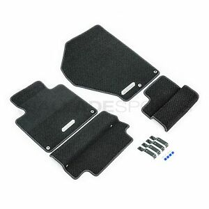 Honda Access S2000 Euro 4 Piece Left Hand Drive Black Floor Mat Set S2k Ap1 Ap2