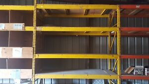 Large Commercial Shelving 10 Tall X 9 Long With Plywood Flooring
