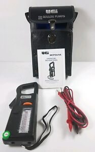 Uei Mcp9a Clamp on Ac Volt amp ohm Meter 9 Ranges 600v ac 300a ac