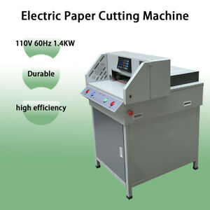 Programable 19 3 electric Paper Cutting Machine Trimmer Cutter 4908t Digital New