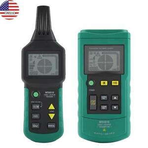 Mastech Ms6818 Wire Cable Metal Pipe Locator Detector Tester Line Tracker Us