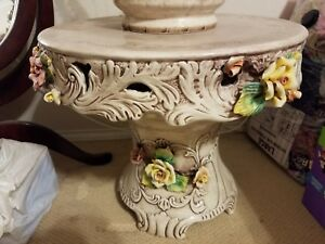 Fabulous Vintage Capodimonte Table Porcelain