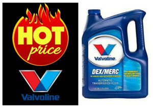Valvoline Dexron Mercon Automatic Transmission Fluid 1 Gallon Best Motor Oil