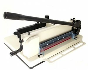 Hfs r New Heavy Duty Guillotine Paper Cutter 12 Commercial Metal Base A3 a4