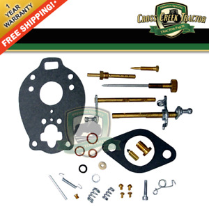 C547av New Carburetor Kit For Ford 800 900 1955 1957 With 172 Cubic Inch Engine