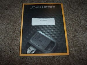 John Deere 540g 548g 640g 648g 748g Iii 360d Owner Operator Maintenance Manual