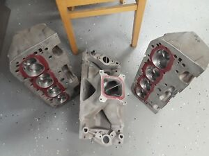 Small Block Chevy Intake And Heads