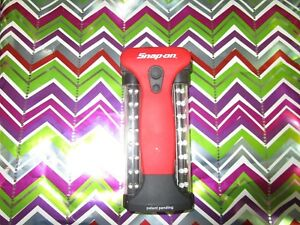 Snap On Battery Powered Led Two Pronged Flashlight