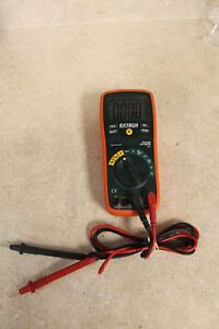 Extech 430 True rms Autoranging Multimeter Pre owned Free Shipping