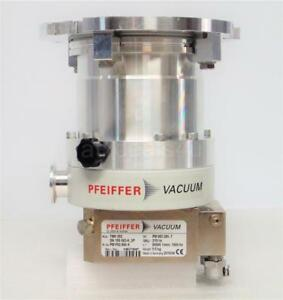 Pfeiffer Tmh 262 Vacuum Turbo Pump pm P02 990 A With Tc100 pm C01 692a