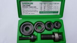 Greenlee Knockout Punch Set 735 735bb