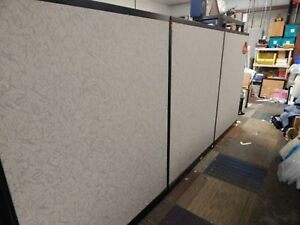 Office Partition Walls 48x64 Office Space Dividers 13 Grey Sections